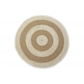 CARPET FIBER 100X100 1300 GR FLECOS NATURAL