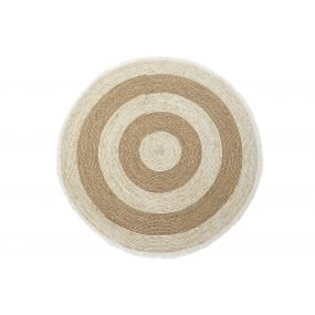 CARPET FIBER 120X120X0 1900 GR. FLECOS NATURAL