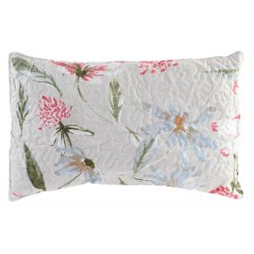 CUSHION COTTON POLYESTER 60X40 400 GR. FLOWERS