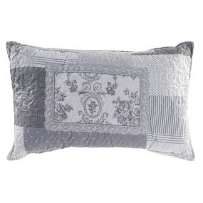 CUSHION COTTON POLYESTER 60X40 400 GR. PATCHWORK