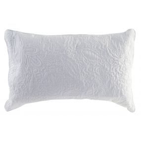 CUSHION POLYESTER 60X40 400 GR. WHITE