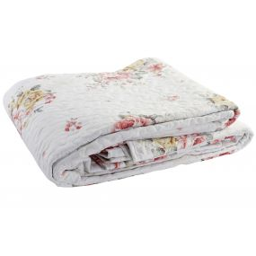 QUILT COTTON POLYESTER 240X260 285 GSM. FLORAL