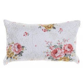 CUSHION POLYESTER 60X40 400 GR. FLORAL