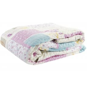 QUILT COTTON POLYESTER 240X260 285 GSM. PATCHWORK