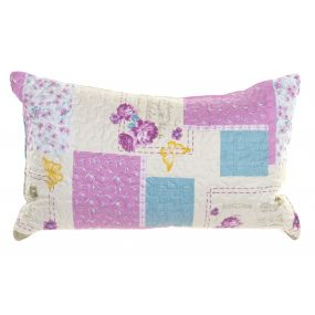 CUSHION POLYESTER 60X40 400 GR. PATCHWORK