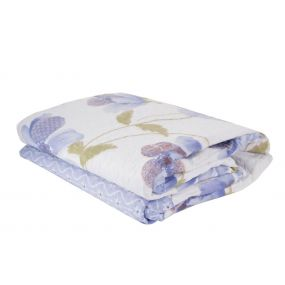 QUILT COTTON POLYESTER 180X260 285 GSM. LILAC