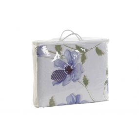 QUILT COTTON POLYESTER 240X260 285 GSM. LILAC