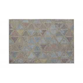 CARPET COTTON POLYESTER 120X180X1 ROMOS PASTEL