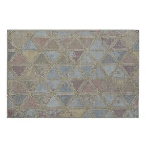 CARPET COTTON POLYESTER 160X240X1 ROMOS PASTEL