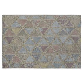 CARPET COTTON POLYESTER 200X284X1 ROMOS PASTEL