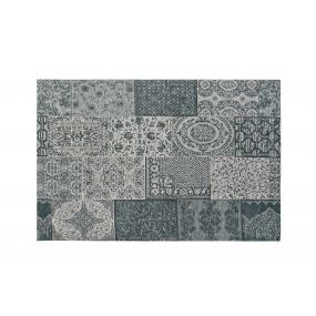 CARPET COTTON POLYESTER 120X180X1 PATCHWORK