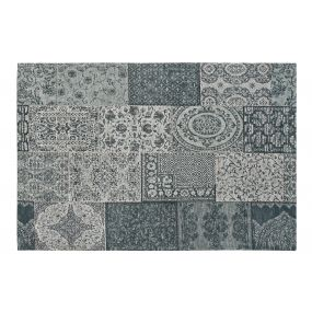 CARPET COTTON POLYESTER 160X240X1 PATCHWORK