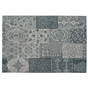 CARPET COTTON POLYESTER 200X296X1 PATCHWORK