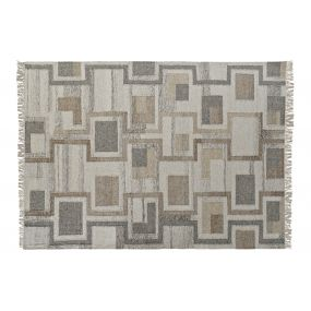 CARPET WOOL COTTON 160X2X240 1300GSM BEIGE