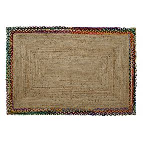 CARPET JUTE COTTON 120X180X1 BROWN