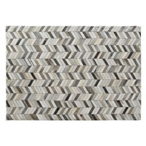 CARPET LEATHER POLYESTER 120X180X1 000 GSM, GREY