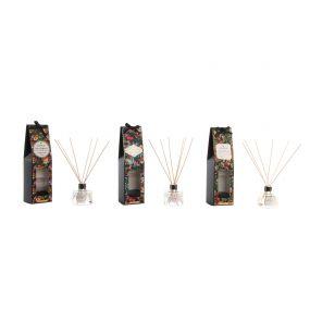 FRAGANCE DIFFUSER GLASS 7X7,5 80 ML TROPICAL 3 MOD