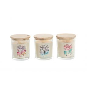 CANDLE FRAGRANCE GLASS 8X9 TOP 3 MOD.