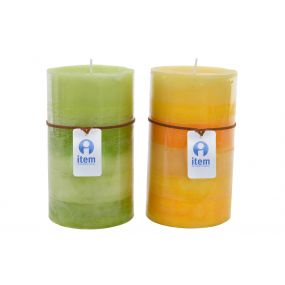 CANDLE WAX PERFUMED 9X15 2% 2 MOD.