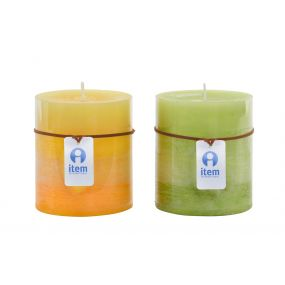 CANDLE WAX PERFUMED 8,7X10 2% 2 MOD.
