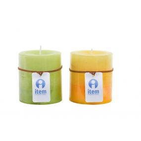 CANDLE WAX PERFUMED 6,8X7,5 2% 2 MOD.