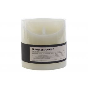 LED CANDLE WAX 15X15X15 WHITE