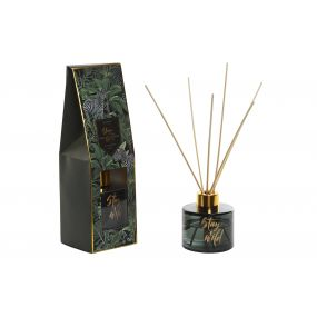 FRAGANCE DIFFUSER GLASS 7X7 80 ML. JUNGLE 3 MOD.