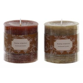 CANDLE WAX PERFUMED 6,8X7 3% 2 MOD.