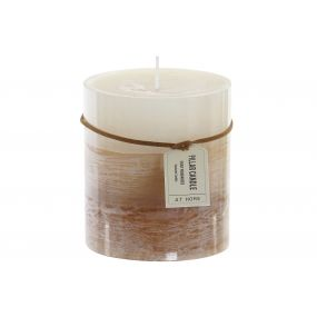 CANDLE WAX 8,7X10 2% PERFUME TRICOLOR