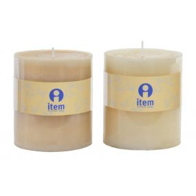 CANDLE WAX PERFUMED 8,7X10 2 MOD.
