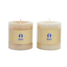 CANDLE WAX PERFUMED 6,8X7 2% 2 MOD.