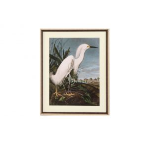 PICTURE MDF GLASS 70X3,5X88 BIRD FRAMED
