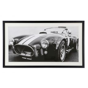 PICTURE CANVAS GLASS 114,4X4,5X64,4 CAR FRAMED