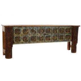 CONSOLE TABLE MANGO 200X43X77 AGED