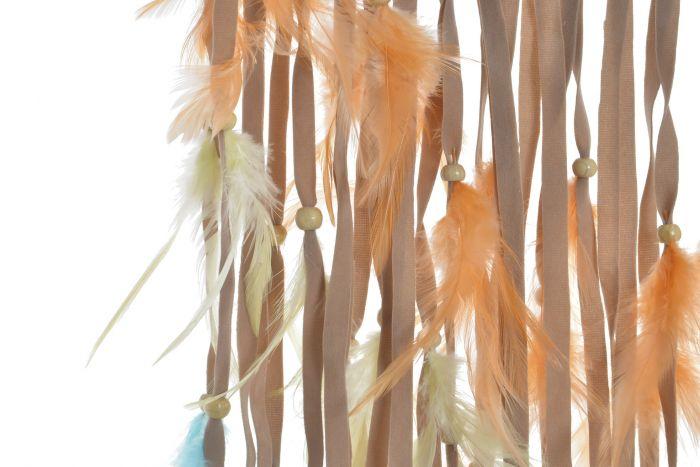 D/écoration Murale /à Suspendre Attrape-R/êves Attrape-R/êves en Plumes /à La Main Attrape-R/êves Blanc avec Guirlande Lumineuse LED D/écoration Artisanale Cadeaux de La Mythologie Am/érindienne