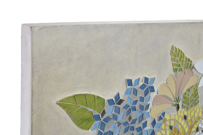 Wall Decoration Mdf Glass 90x4 5x70 Flower Vase