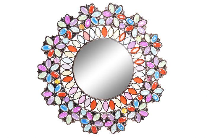 Wanddecoratie - Spiegels - Mirror metal acrylic 49x1x49 golden