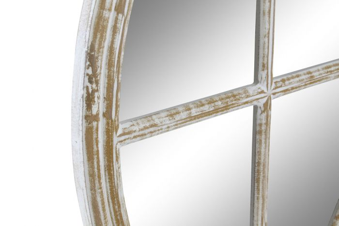 Wanddecoratie - Spiegels - Mirror mango mirror 45x2x60 window worn out white