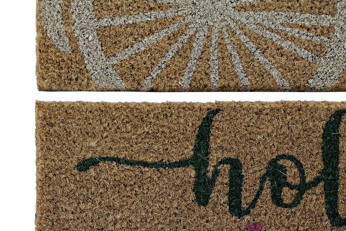 Woonaccessoires - Deurmatten - Doormat coco fiber 75x45x1,5 2 mod.