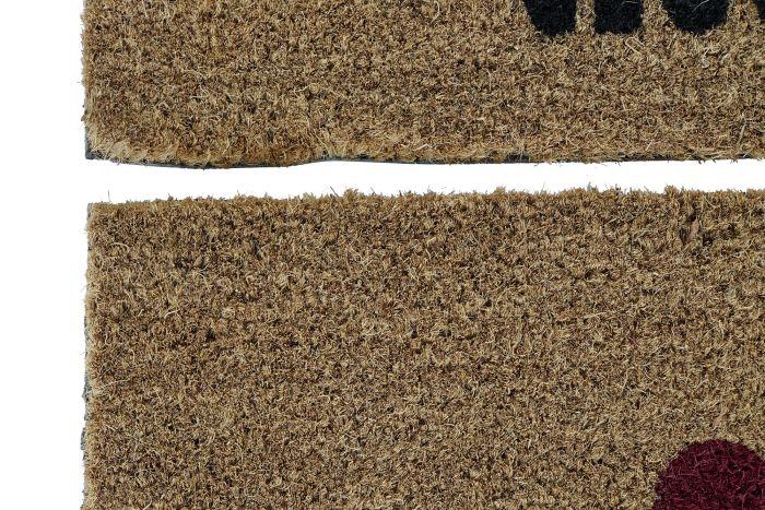 Woonaccessoires - Deurmatten - Doormat coco fiber pvc 60x40x1,5 wifi 2 mod.