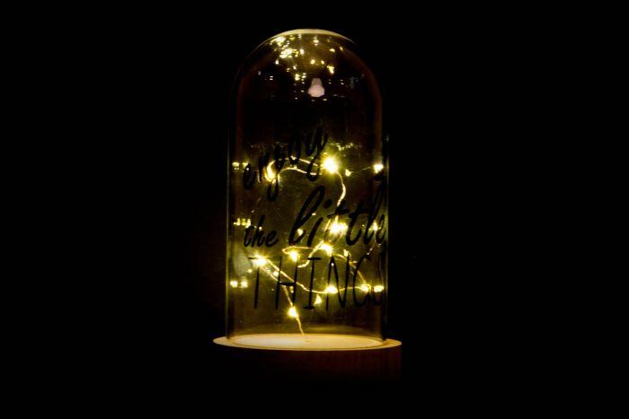 Decoracion Luminosa Led 9x18 10 Leds Frase 2 Surt