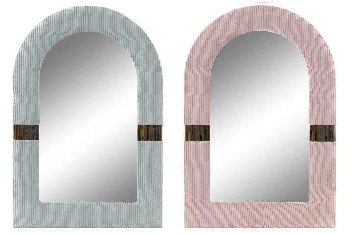 Wanddecoratie - Spiegels - Mirror polyester metal 41x2,5x60 2 mod.