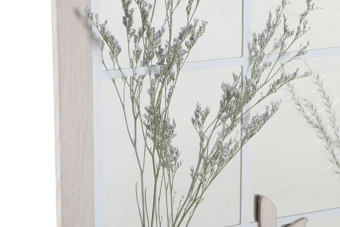 Wanddecoratie - Spiegels - Mirror mdf resin 35x10x50 wall beige