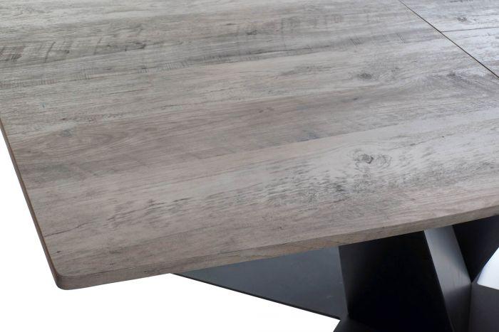 TABLE 160X90X76 EXTENSIBLE 200 MÉTAL CM A MDF MpSVUz