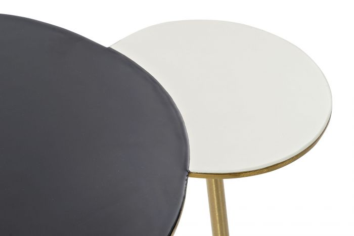 Tafel - Salontafels - Auxiliary table aluminium 67x50x37 golden