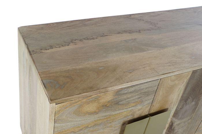 Kast - Dressoir - Buffet wood metal 147x43x75 30 light brown