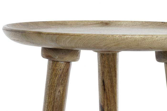 Tafel - Salontafels - Auxiliary table mango 45,5x45,5x44 decape brown