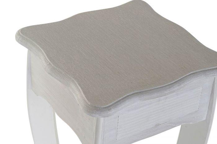 Tafel - Salontafels - Auxiliary table set 2 mdf 30x30x76 white