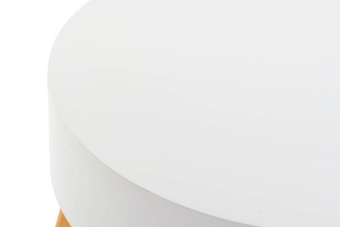 Tafel - Salontafels - Coffee table mdf 60x60x45 white