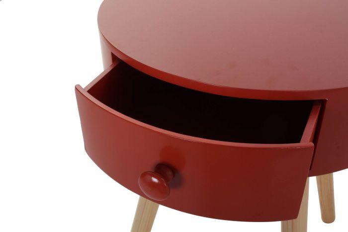 Tafel - Salontafels - Auxiliary table wood 38x41x47 natural 2 mod.